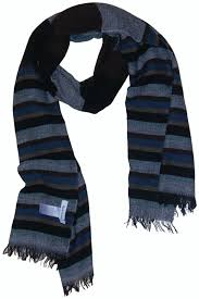 paul smith wooly striped lightweight scarf bnwt very rare made in