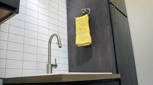 marvelous grey subway tile backsplash 3 room utility sink