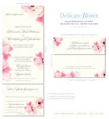 rose wedding invitations reduxsquad com