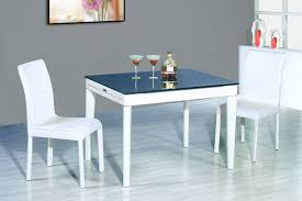 Modern Dining Room Sets For 6 Modern White Dining Room Set G020 With White Chairs Pictures To