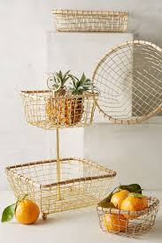 brushed wire fruit bowl anthropologie