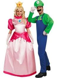 Mario Luigi Halloween Costumes Couples Nightmare Elm Street Couples Costumes Freddy Krueger