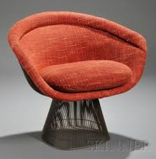 Warren Platner Chair Search All Lots Skinner Auctioneers