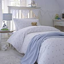 pink stars duvet cover collection by the fine cotton company
