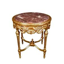 Baroque Coffee Table by Baroque Round Table In Gilded Wood Baroque Furniture