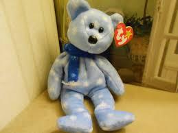 ty beanie babies 5 bears halo valentino valentina 1999 holiday