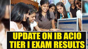 Acio 2017 Results Official Notification Ib Acio 2017 Tier I Results Update Where To Check It