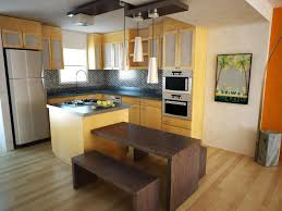 Kitchen Floor Cabinets Kitchen Brown Kitchen Cabinets Stainless Faucet Electric Stove