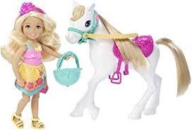 amazon barbie sister chelsea pony toys u0026 games