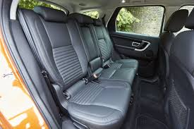 land rover defender interior back seat 2016 land rover discovery sport review