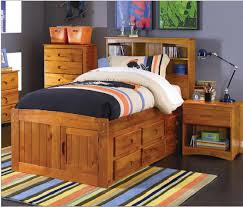 twin captains bed with bookcase headboard stoney creek twin size bookcase captain s bed home kids rooms