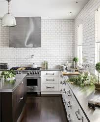 stylish kitchen 10 stylish kitchens with stainless steel countertops apartment therapy