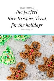 rice krispie treats for thanksgiving making holiday rice krispies treats for a new christmas tradition