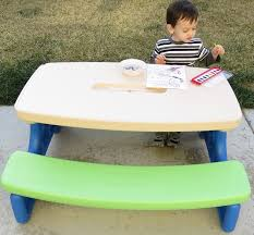 candace u0027s corner little tikes easy store picnic table review