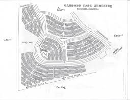 Rochester Mn Map Map Oakwood Cemeteries