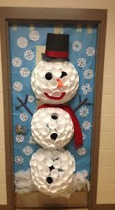 27 Classroom Door Winter Decoration
