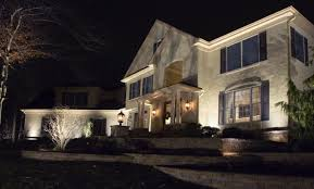 Low Voltage Led Landscape Lighting Outdoor Landscape Lighting Goes Led In The Hudson Valley