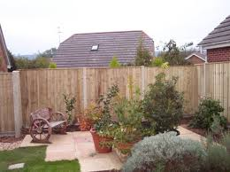 Garden Fence Types - garden fencing and fence panels atlas fencing exeter devon