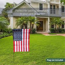 Decorative Flags For The Home Amazon Com Easygo Garden U0026 Yard Flag Stand Holds Flags Up To