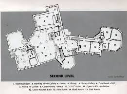 Floor Plan Castle First Level Floor Plan Fonthill Castle Pinterest