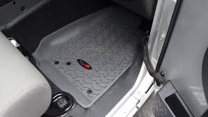 rugged ridge floor mats install u0026 review wrangler top 100 14