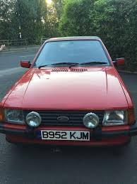 ford escort xr3i cabriolet mk3 1985 in hall green west midlands