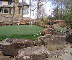 projects using stones and landscaping materials from all american