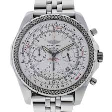 breitling bentley diamond breitling for bentley a25362 special edition stainless steel watch