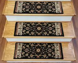 carpet stair treads central oriental treads from rugdepot