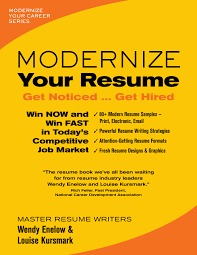 Resume Samples That Get You Hired by Modernize Your Resume Louisekursmark Com