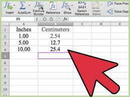 3 ways to convert measurements easily in microsoft excel wikihow