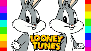 coloring baby bugs bunny disney looney tunes coloring pages for