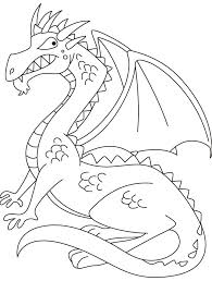 medieval dragon coloring pages coloring home