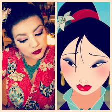 disney u0027s mulan makeup tutorial costumes cosplay pinterest