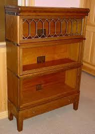 Sectional Bookcase Globe Wernicke Oak 3 Stack Bookcase Southwest Spirit Antiques