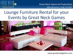 lounge furniture rental lounge furniture rental by gng productions
