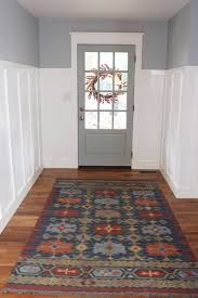 Entrance Runner Rugs A New Kilim Rug For The Entry Thewhitebuffalostylingco