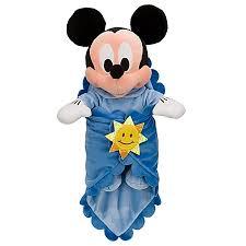 babies plush mickey mouse plush toy blanket