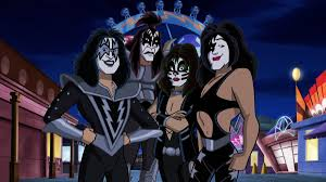 kiss gets animated with scooby doo in u0027rock and roll mystery