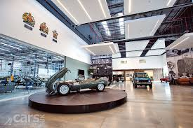 jaguar land rover dealership jaguar land rover classic car works opens to preserve and
