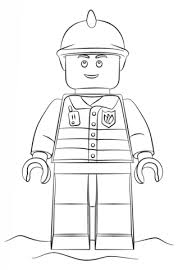 lego fireman coloring free printable coloring pages