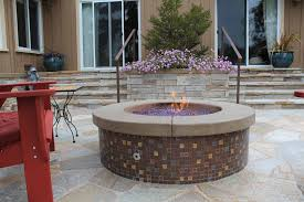 Concrete Fire Pit by Concrete Fire Pits Decorative Concrete Fire Pits Fire Pit
