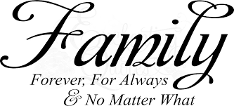 family quotes vinyl wall decals sayings forever for always