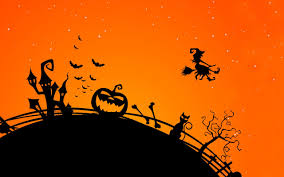 halloween hd background by862 hd widescreen wallpaper halloween cats halloween cats