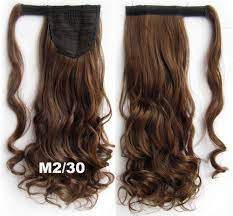 Long Synthetic Hair Extensions by Buy Fashion Clothing Women Synthetic Wrap Around Ponytail Curl