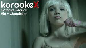 Chandelier Sia Music Video by Sia Chandelier Karaoke Version Karaokex Video Dailymotion