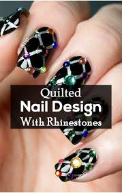 49 best nail art strass rhinestones images on pinterest pretty