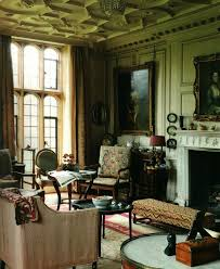 decor design review Mapperton House in Dorset drawing room