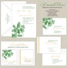 celtic wedding invitations celtic wedding invitation unique emerald green wedding invitations