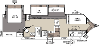 Rockwood Trailers Floor Plans 3006wk Jpg